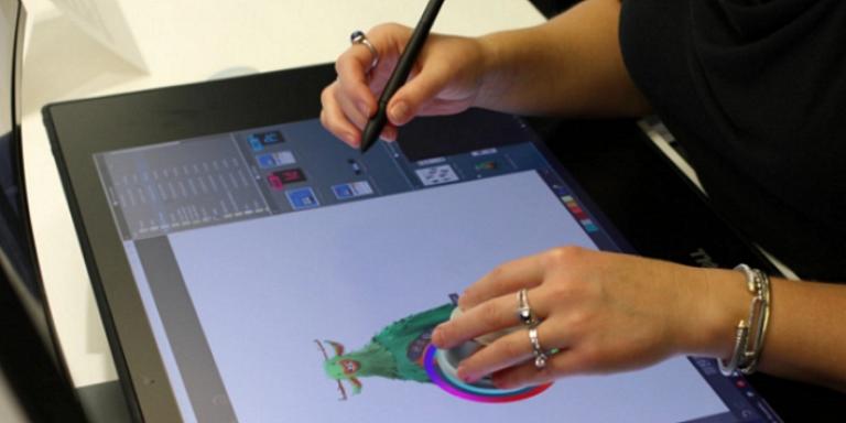 Интерактивная панель Dell Canvas теперь в России