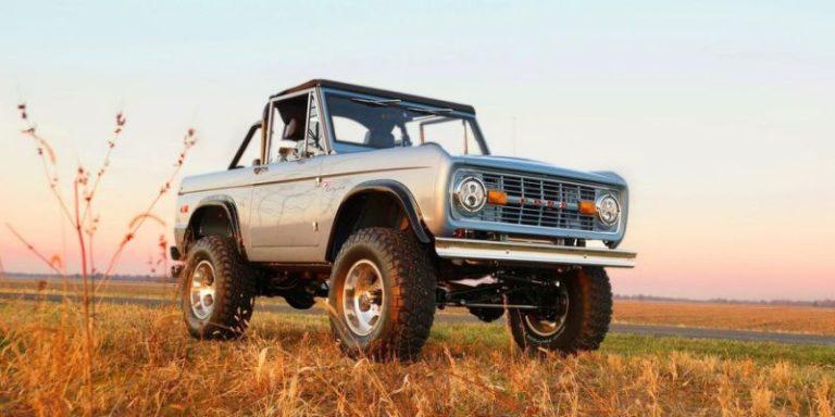 Легенда бездорожья: Ford Bronco возвращается на сцену (видео)