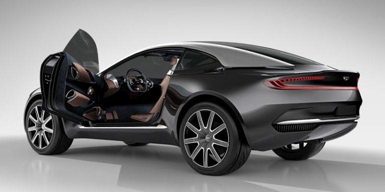 Первый кроссовер Aston Martin: для России ихпочти неосталось (видео)