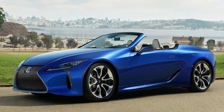 Lexus представил роскошный кабриолет (видео)