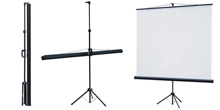 Основы выбора экрана для проектора