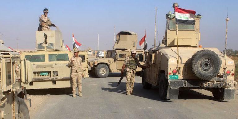 Отечественный патруль застал врасплох боец США на границе Сирии и Ирака